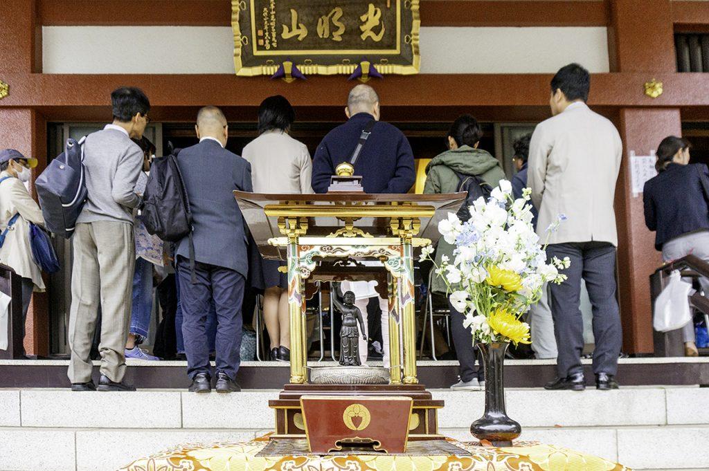 みぞのくちコミュニティーコンサート-大蓮寺の花祭り